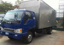 Xe tải JAC 4,99 tấn thùng dài 5m3, động cơ faw mạnh mẽ