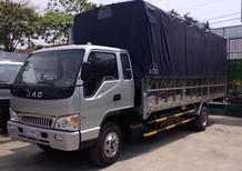 Xe tải Jac 6,4 tấn thùng dài 6m2, động cơ faw mạnh mẽ