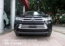Bán Toyota Highlander Le đời 2016, màu đen, nhập khẩu chính hãng