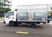 Xe tải Kia 1 tấn, thùng kín inox, đời mới 2017. Thaco Frontier 125