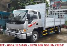 Cần bán JAC HFC 7.25 tấn 2018, màu bạc