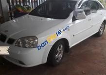 Xe Daewoo Lacetti sản xuất năm 2004, màu trắng, 140 triệu