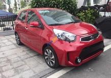 Cần bán xe Kia Morning Si MT sản xuất năm 2017, màu đỏ, giá tốt