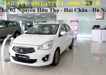 Bán xe Mitsubishi Attrage mới , màu trắng, nhập khẩu chính hãng, giá 410tr