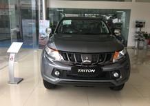 Cần bán xe Mitsubishi Triton MT 2018, màu xám, nhập khẩu chính hãng, giá 570tr