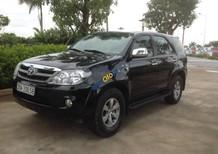 Bán Toyota Fortuner SRS năm 2009, màu đen, nhập khẩu
