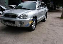 Bán Hyundai Santa Fe Gold 2.0 AT sản xuất năm 2005, màu bạc, nhập khẩu