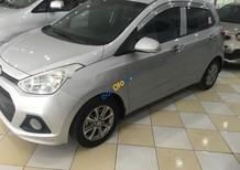 Cần bán xe Hyundai Grand i10 1.0 năm sản xuất 2016, màu bạc