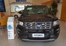 Bán xe Ford Explorer 2.3Ecoboost limited năm sản xuất 2017, màu đen, nhập khẩu