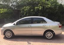 Cần bán lại xe Toyota Vios 1.5 E 2012, màu bạc xe gia đình sử dụng
