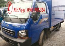 Giá xe Thaco Frontier KiA K165, K190 tải trọng 1 tấn 25 đời 2017 hỗ trợ trả góp lên đến 80% tại hà Nội