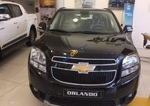 Bán xe 7 chỗ Chevrolet Orlando LTZ màu đen ở Kiên Giang, trả góp ngân hàng - LH: 090 102 7 102 gặp Nhâm Huyền