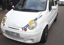 Cần bán Daewoo Matiz 2009, màu trắng, xe gia đình chạy nên rất kỹ