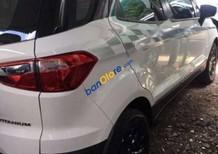 Cần bán xe Ford EcoSport Titanium Black 1.5L AT đời 2017, màu trắng, xe có bảo hiểm 2 chiều PVi
