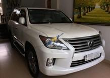 Bán ô tô Lexus LX 570 năm sản xuất 2013, màu trắng, nhập khẩu