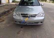 Cần bán lại xe Chevrolet Lacetti 1.6 sản xuất năm 2012, màu bạc