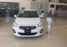 Bán xe Mitsubishi Attrage MT 2017, màu trắng, xe nhập, giá rẻ nhất Đà Nẵng