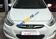Bán xe Hyundai Accent 1.4 AT sản xuất năm 2013, màu trắng, giá chỉ 479 triệu