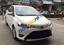 Cần bán xe Toyota Vios sản xuất 2016, màu trắng