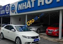 Bán ô tô Kia Cerato 1.6 AT sản xuất 2011, màu trắng, 455tr