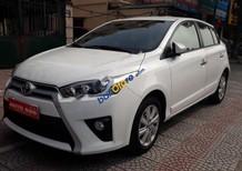 Bán Toyota Yaris 1.3G năm sản xuất 2015, màu trắng, nhập khẩu Thái Lan chính chủ, 585 triệu