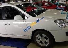 Bán ô tô Kia Carens Ex 2.0 MT năm 2015, màu trắng