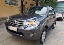 Cần bán lại xe Toyota Fortuner năm sản xuất 2009, màu xám