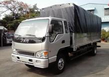 Xe tải JAC tải 9,1 tấn, thùng dài 6,2m, động cơ ISUZU đời 2017, giá cực rẻ chất lượng tốt