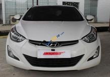 Cần bán lại xe Hyundai Elantra GLS 1.6AT năm 2014, màu trắng, nhập khẩu Hàn Quốc số tự động