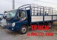 TP. HCM Thaco Ollin 700B 7 tấn phiên bản mới, thùng mui bạt tôn đen