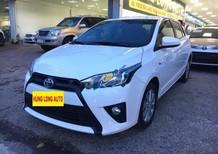 Cần bán gấp Toyota Yaris 1.5E sản xuất năm 2017, màu trắng