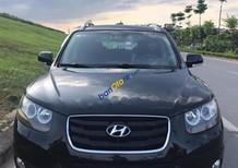 Bán Hyundai Santa Fe SLX năm 2009, màu đen, xe nhập