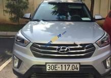 Cần bán Hyundai Creta 1.6 AT sản xuất 2015, màu bạc