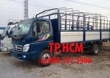 TP. HCM Thaco Ollin 700B 7 tấn, màu trắng thùng kín tôn đen