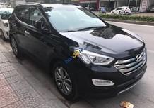 Bán Hyundai Santa Fe 2.4L 4WD năm 2014, màu đen, nhập khẩu nguyên chiếc