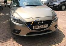 Bán Mazda 3 1.5L sản xuất 2015, màu vàng, 595 triệu