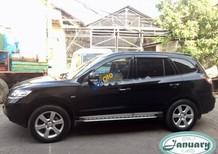 Cần bán gấp Hyundai Santa Fe SLX năm 2009, màu đen