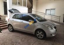 Cần bán xe Toyota Yaris sản xuất 2008, màu bạc, nhập khẩu