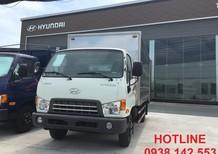 Bán trả góp xe tải Hyundai HD650 7 tấn thùng kín dài 5m. Giá tốt, nhiều khuyến mãi hấp dẫn