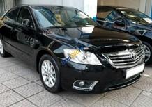 Cần bán xe Toyota Camry 2.4G sản xuất 2011, màu đen chính chủ