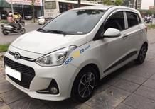Cần bán gấp Hyundai Grand i10 1.2AT đời 2017, màu trắng, xe nhập số tự động, giá tốt