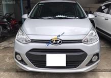 Bán Hyundai Grand i10 1.2AT sản xuất năm 2014, màu bạc, nhập khẩu nguyên chiếc