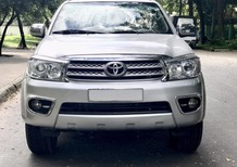 Bán Toyota Fortuner  động cơ diesel số sàn cuối 2011 màu bạc cực đẹp