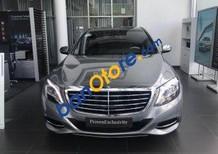 Cần bán gấp Mercedes S500L năm sản xuất 2014, màu bạc