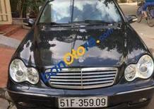 Bán Mercedes C200 MT năm sản xuất 2004, màu đen chính chủ