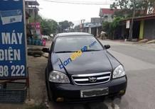 Cần bán gấp xe cũ Daewoo Lacetti sản xuất 2009, màu đen