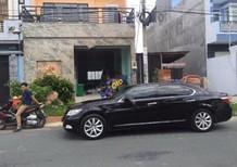 Cần bán xe Lexus LS 460L năm 2007, màu đen, nhập khẩu nguyên chiếc