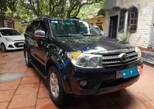 Cần bán xe Toyota Fortuner đời 2010, màu đen số sàn, giá tốt