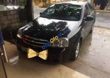Bán Chevrolet Lacetti năm sản xuất 2012, màu đen