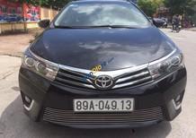 Bán Toyota Corolla altis 1.8 sản xuất 2014, màu đen như mới